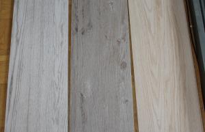 Links Grau, Mitte Greige und rechts Beige gekalkt