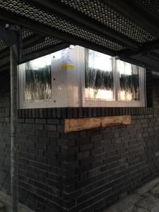 Küchenfenster von außen